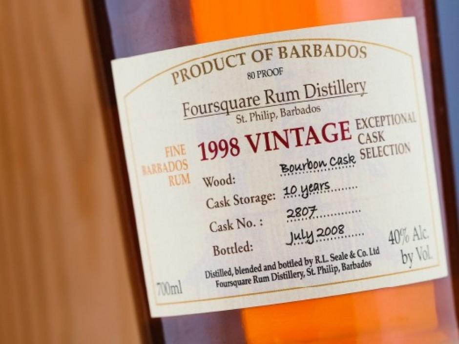 Foursquare Rum 1998 Exceptional Cask Selection