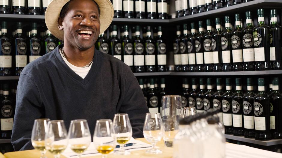 Ian Burrell Rum Tasting