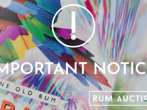 Rum Auctioneer Important Notice