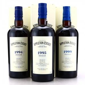 Appleton Estate Velier Hearts Collection 3 x 70cl