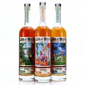 Jung & Wulff Barbados, Trinidad & Guyana Luxury Rums 3 x 75cl / US Import