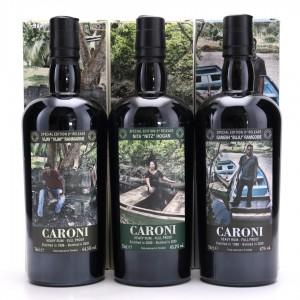 Caroni Velier Employees 3rd Release Gift Set 3 x 70cl