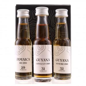 Enmore, Hampden & Uitvlugt Nobilis Rum Samples x 3