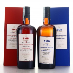 Monymusk EMB Velier Tropical vs Continental Aging 2 x 70cl / E&A Scheer