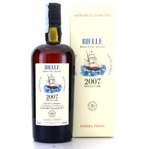 Bielle 2007 Velier 10 Year Old Barrel Proof / 70th Anniversary