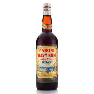 Caroni Navy Rum Tate and Lyle 75 Proof 1960s