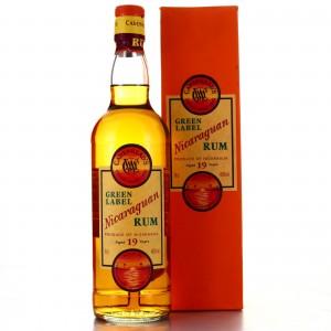 Nicaraguan Rum 19 Year Old Cadenhead's Green Label