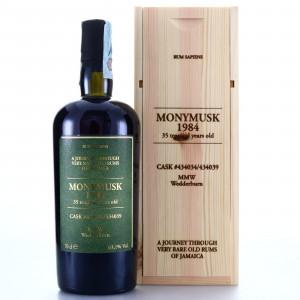 Monymusk MMW 1984 Velier 35 Year Old Rum Sapiens 63.1%
