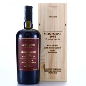 Monymusk MMW 1984 Velier 35 Year Old Rum Sapiens 69%