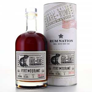 Port Mourant 1998 Rum Nation Small Batch