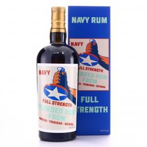 Corman Collins Full Strength Blended Navy Rum