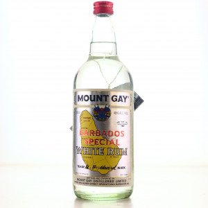 Mount Gay White Rum 1980s