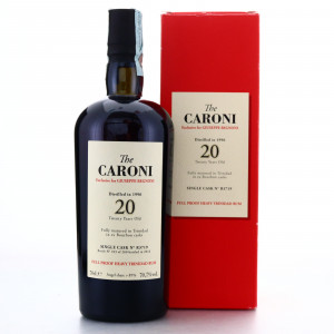 Caroni 1996 Velier 20 Year Old Single Cask Heavy #R3719 / Giuseppe Begnoni