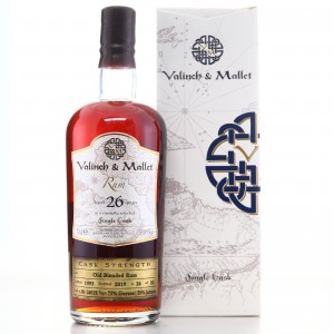 Blended Rum 1993 Valinch & Mallet 26 Year Old