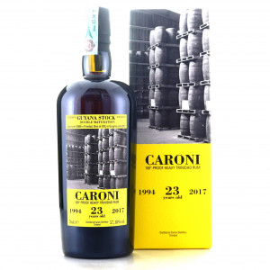 Caroni 1994 Velier 23 Year Old 100 Proof Heavy / Guyana Stock
