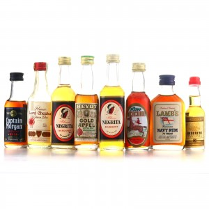 Rum Miniatures x 8
