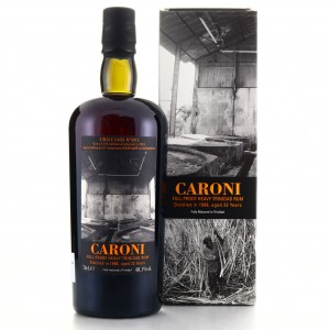 Caroni 1996 Velier 22 Year Old Single Cask Heavy #3812 / Shinanoya & Bar Lamp