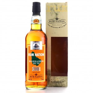 Barbados Rum 2001 Rum Nation 10 Year Old