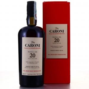 Caroni 1996 Velier 20 Year Old Single Cask Heavy #R3719 / Giuseppe Begnoni