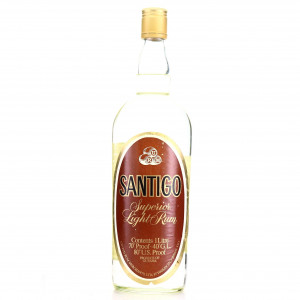Santiago Superior LIght Rum 1 Litre 1970s
