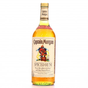 Captain Morgan Spiced Rum 1 Litre 1980s