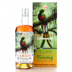 Caroni 1997 Silver Seal 18 Year Old / Rum is Nature