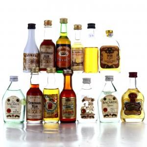 Rum Miniatures x 13