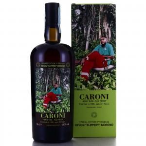 Caroni 1998 Velier 21 Year Old Full Proof Heavy / Kevon 'Slippery' Moreno