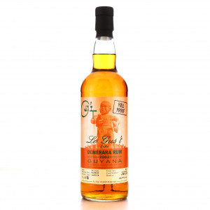 Cuffy Demerara Rum 2002 Le Gus't 16 Year Old Full Proof