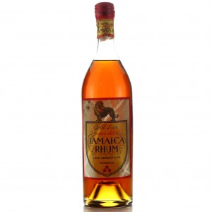 Gold Lion Very Old Jamaica Rum circa 1960s