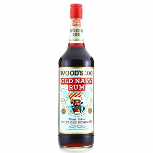 Wood's 100 Proof Old Navy Rum ​1 Litre