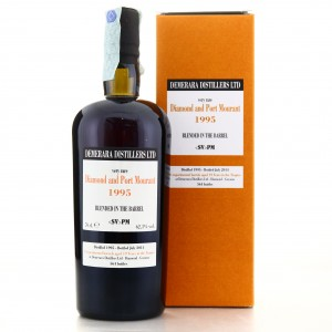 Diamond and Port Mourant <SV>PM 1995 Velier 19 Year Old Blended in the Barrel