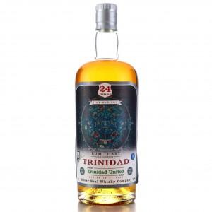 Trinidad United 1991 Silver Seal 24 Year Old / Rum is Art