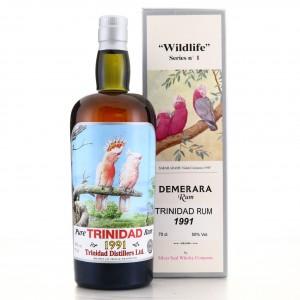 Trinidad Distillers 1991 Silver Seal / Wildlife No.2
