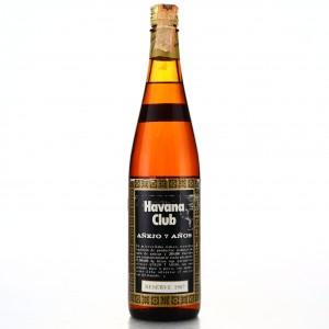Havana Club 7 Year Old 1980s