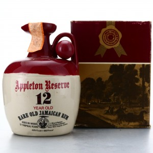 Appleton Reserve 12 Year Old Rum Decanter 1980s