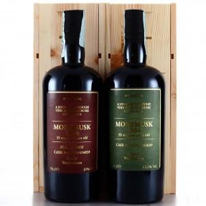 Monymusk MMW 1984 Velier 35 Year Old Rum Sapiens 2 x 70cl