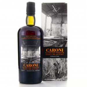 Caroni 1996 Velier 22 Year Old Single Cask Heavy #3812 / Shinanoya
