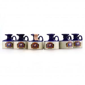 Pusser's British Navy Rum Miniature x 6