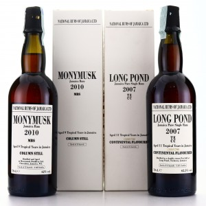 Long Pond TECC 2007 Continental Flavoured 11 Year Old & Monymusk MBS 2010 9 Year Old