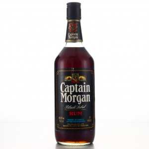 Captain Morgan Black Label 1970s