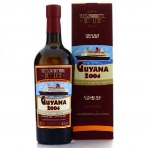 Guyana 2004 Transcontinental Rum Line / Kirsch Whisky