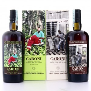 Caroni Employees 2nd Releases 2 x 70cl / Kevon 'Slippery' Moreno & David 'Sarge' Charran