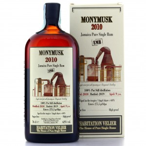 Monymusk EMB 2010 Habitation Velier 9 Year Old