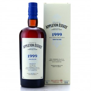 Appleton Estate 1999 21 Year Old / Hearts Collection