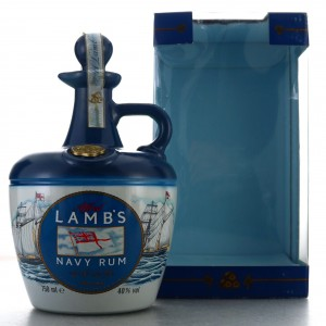 Lamb's Navy Rum Decanter 1980s