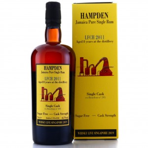 Hampden LFCH 2011 Habitation Velier 8 Year Old / Whisky Live Singapore 2019