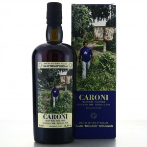 Caroni 1998 Velier Full Proof Heavy / Balas 'Brigade' Bhaggan