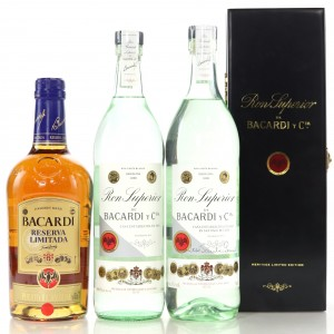 Bacardi Selection x 3
