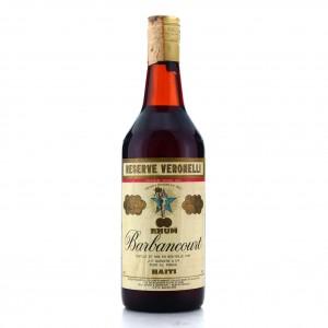 Barbancourt 25 Year Old Reserve Veronelli 1970s / Bonfanti Import